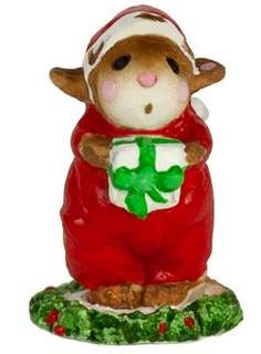 Wee Forest Folk Christmas M-121am Mini Wise Man with Turban